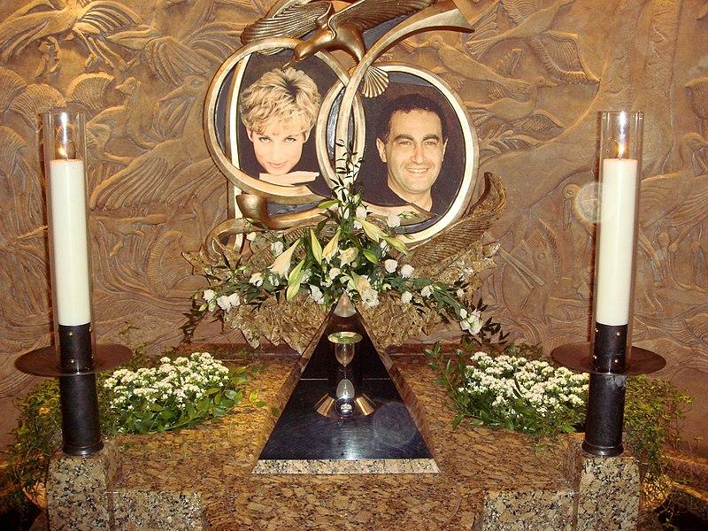 Erinnerungsbilder an Prinzessin Diana und Dodo-Al-Fayed